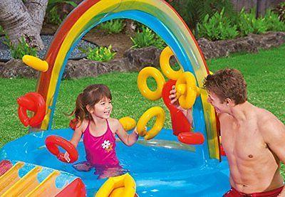 Water Play Inflatable Slide Bounce Backyard Kid