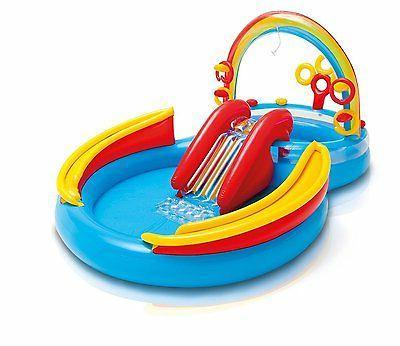 Water Slide Bounce Backyard Toys Playset