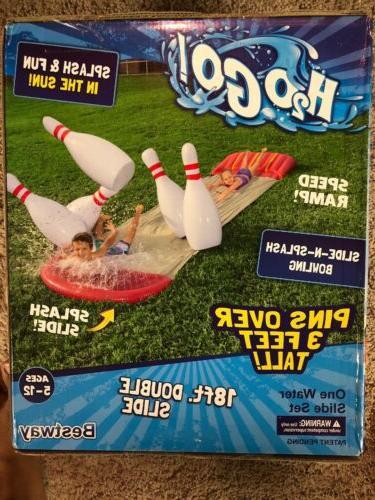 water slide backyard inflatable slip and slide
