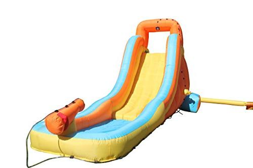 water slide first backyard inflatable