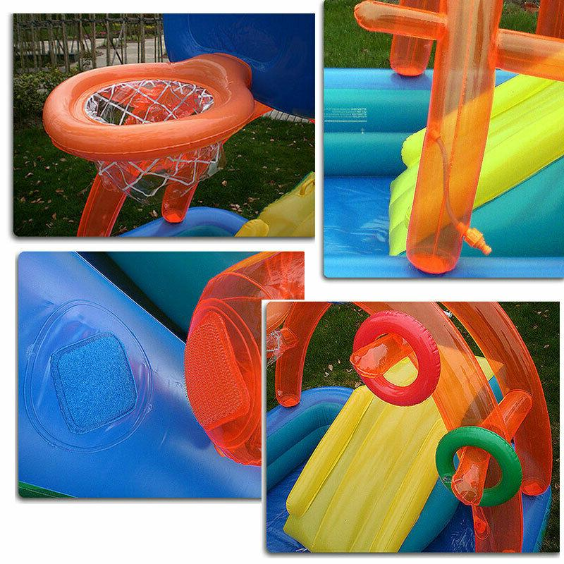 Water Fun Lawn Water Inflatables Pools Kids Summer