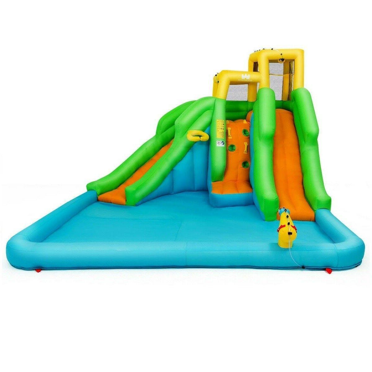 Water Slide House Outdoor Bouncer Fun