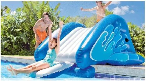 Inflatable Swimming Pool Water Slide Kids Summer Fun Toy Pla