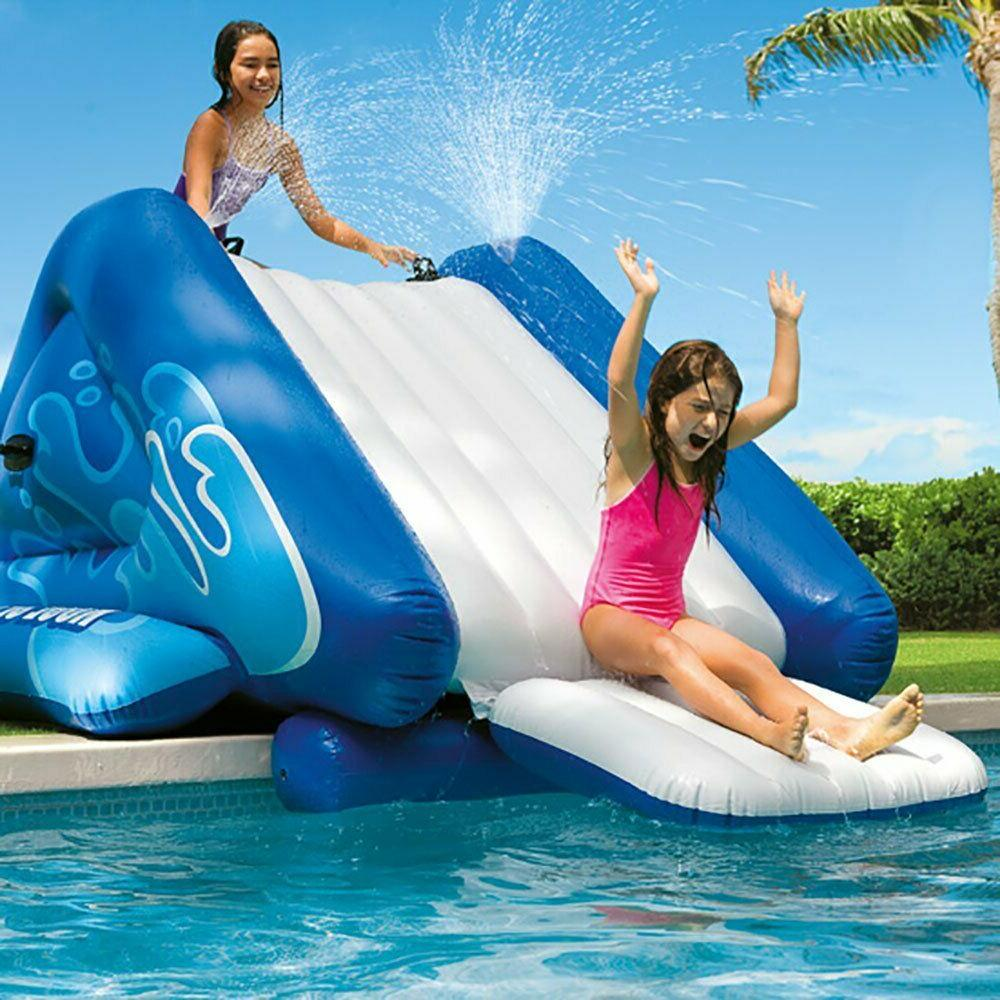 water slide inflatable play center