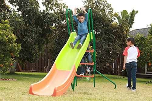 SLIDEWHIZZER Indoor Playground Slide; Playset and for Children. Backyard Toy Playing. for Hours.