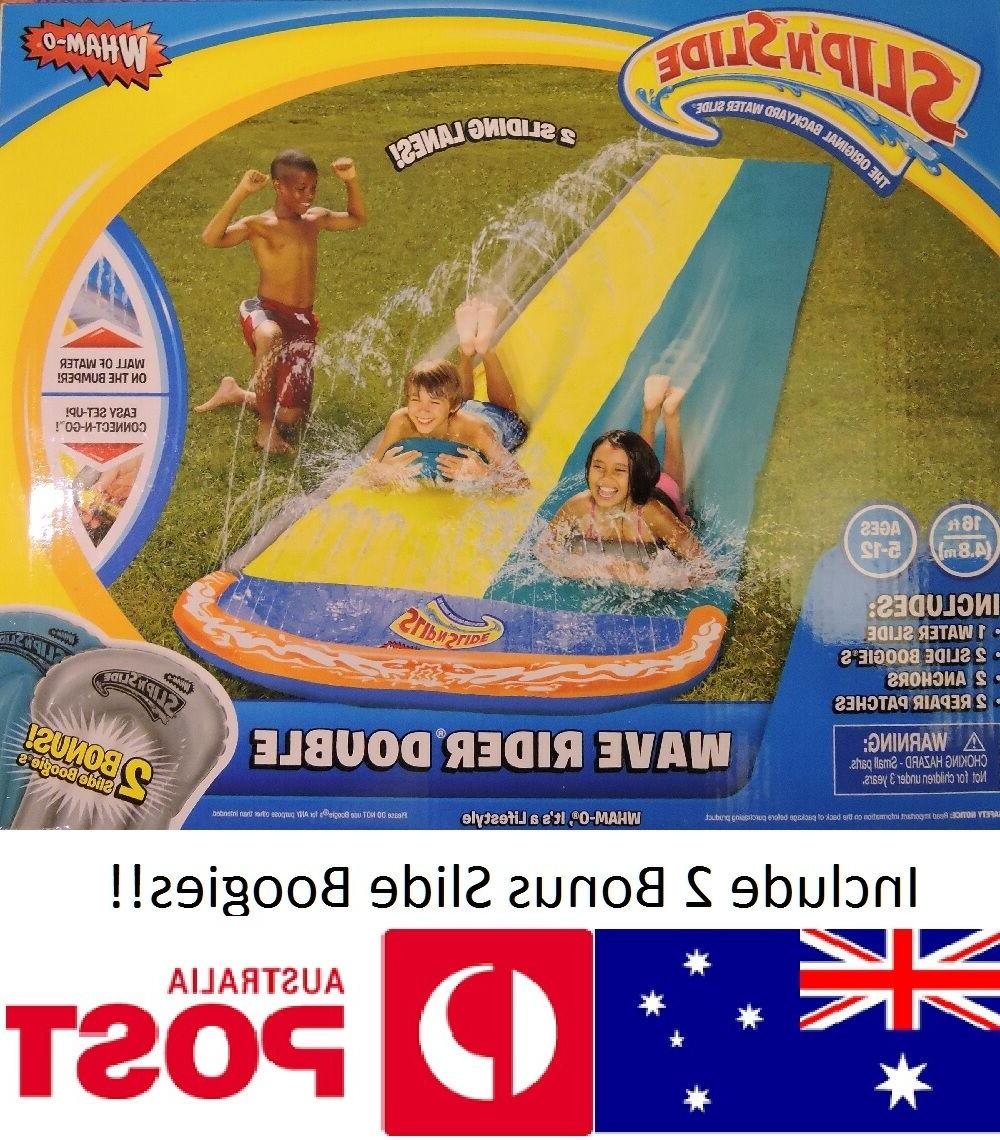 wham o double 2 lanes wave rider
