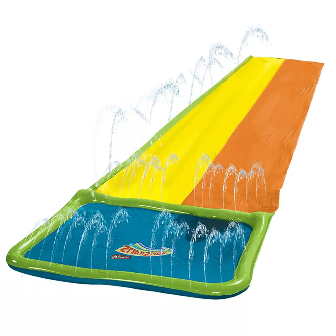 Wham-O Slip N Slide Hydroplane Double XL 18 Ft Inflatable Wa