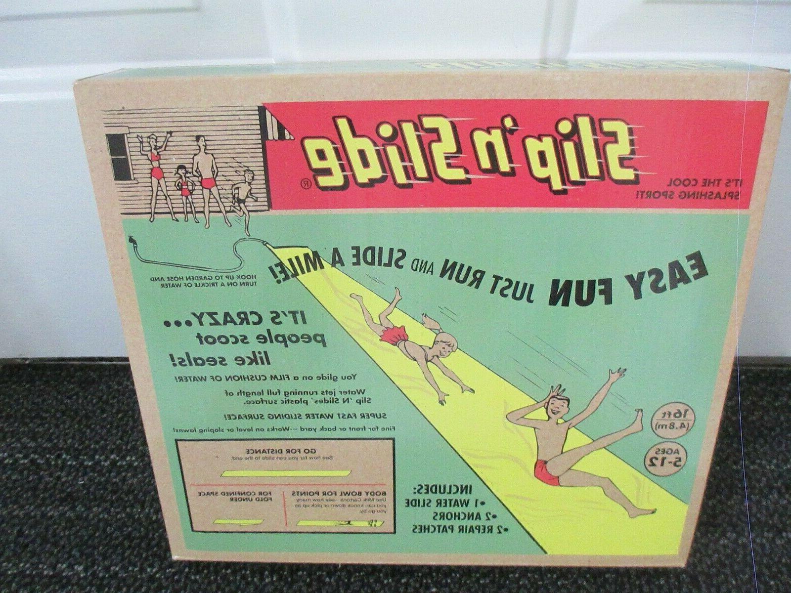 wham o slip n slide in vintage