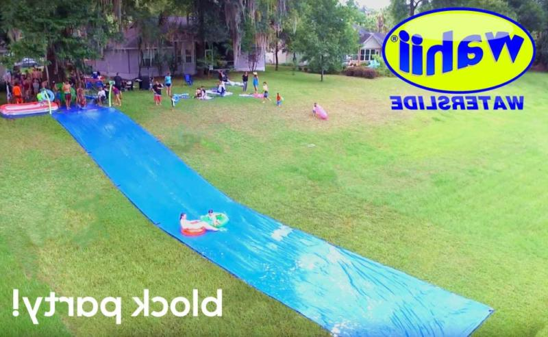 Water Slide Birthday Parties