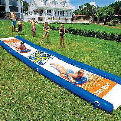 wow watersports mega slide family kids backyard