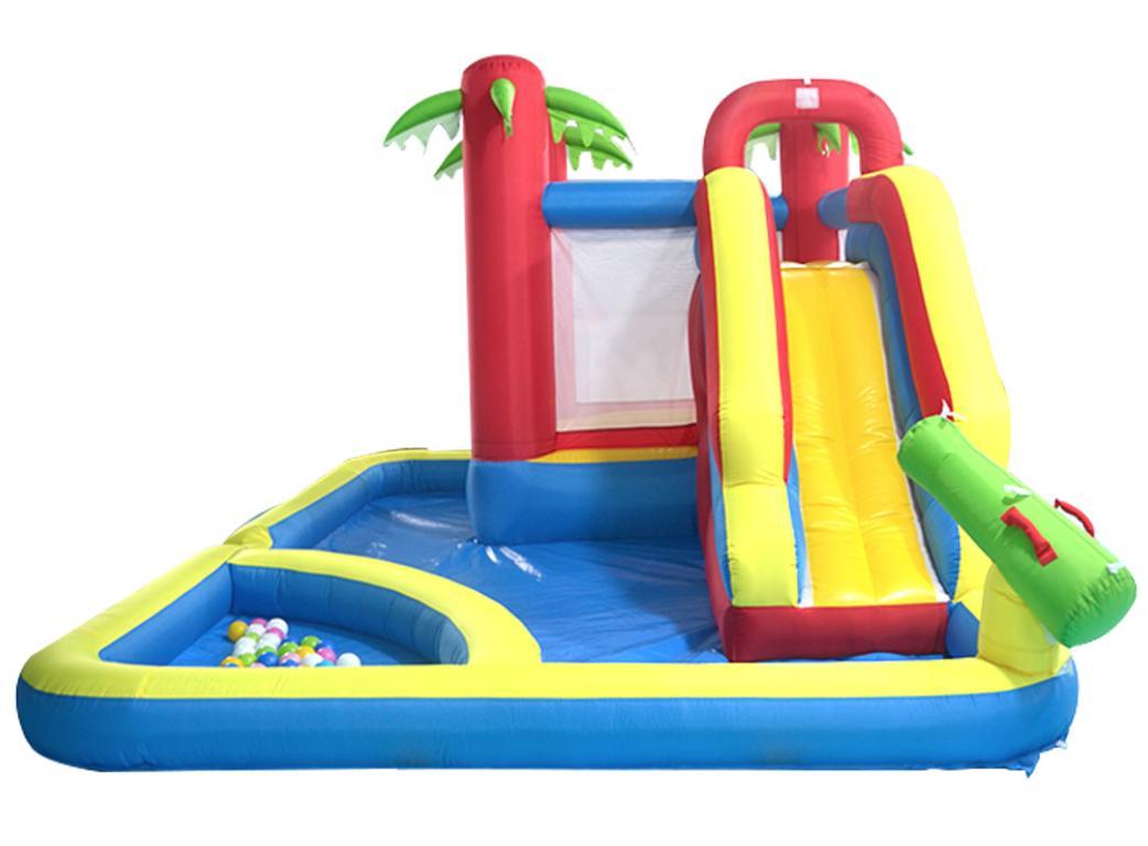 yard inflatable trampolines slides pool water park
