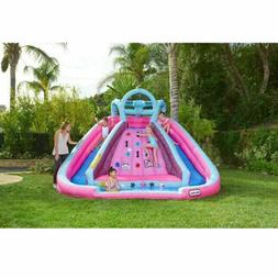 L.O.L. Surprise Inflatable River Race Water Slide with Blowe