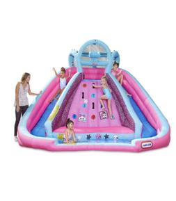 L.O.L. Surprise! Inflatable River Race Water Slide with Blow