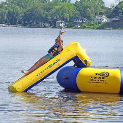 Rave Lake Ocean River Water Sports Small Slide Trampoline At