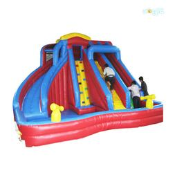 Large Slide Inflatable Water Slide With Pool For Sale PVC Co