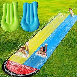 Lawn Water Slides for Kids Backyard - 15.75ft Long Slip and