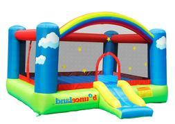 Bounceland Little Sunshine Bounce House with hoop