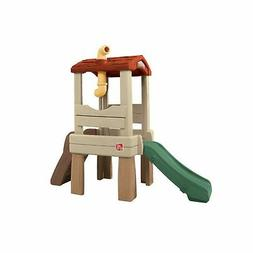 """Step2 Lookout Treehouse Climber Playset with 33"""" Slide"""