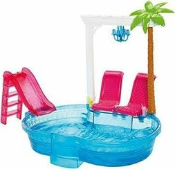 mattel 2015 barbie glam pool includes pool