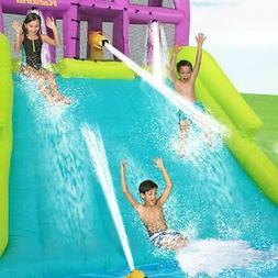 Kahuna Mega Blast Inflatable Backyard Kiddie Pool and Slide
