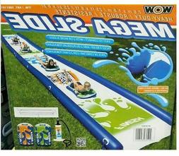 Wow Sports Mega Water Slip And Slide With 2 Sleds & Pump 25F