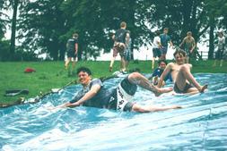 Mermaid-Pirate Ameri-Slide- USA MADE- Backyard Vinyl Water S