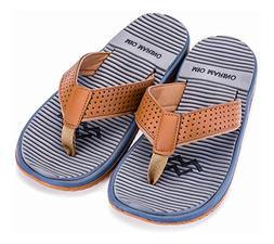 Mio Marino Beach Flip Flops For Men - Comfortable Flip Flop
