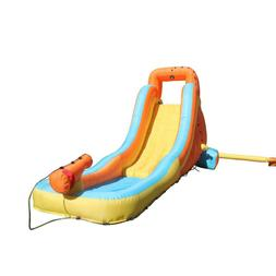 Multi-Colored Polyester My First Inflatable Water Slide Kids