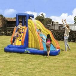 My 1st Splash 'N Slide Inflatable Blunce House With Curved