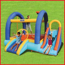 Sportspower My 1st Jump 'n Slide, Easy to set up and take do