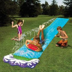 N/Y 16 FT Slip and Slides,Lawn Water Slides Play Center Infl