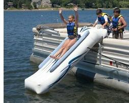 NEW Rave Sports 00001 Pontoon Boat 10' Inflatable Water Slid