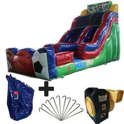 NEW 17ft High Sport Commercial Inflatable Bounce House Water
