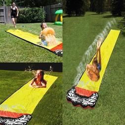 New 4.8m Slide Water Fun Backyard Slide Outdoor Summer Pools