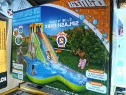 New! Banzai 90321 Slide N Soak Splash Park Inflatable Outdoo