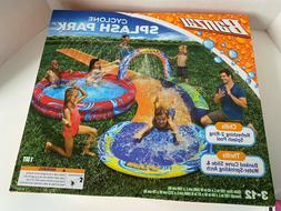 new cyclone splash park inflatable with sprinkling