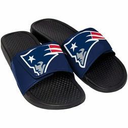 New England Patriots Mens Sandals NFL Slide Legacy Water Sho