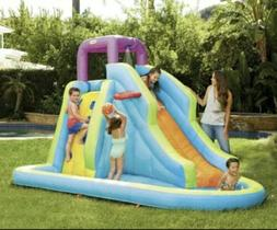 NEW Little Tikes Family Fun Water Park 10ftx6ft W/ Basketbal