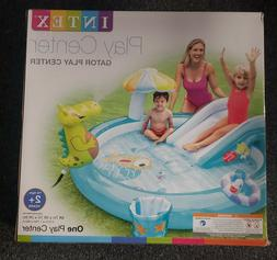 New INTEX Gator Play Center Kids Inflatable Swimming Pool Wa