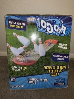 New Bestway H2O GO! Slide-N-Splash Bowling 18ft. Inflatable