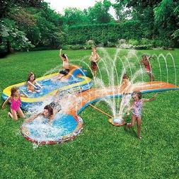 💧NEW Banzai Inflatable Aqua Drench 3-in-1 Splash Park Spr