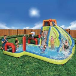NEW Banzai Inflatable Aqua Sports Water Park - FAST SHIP ✅