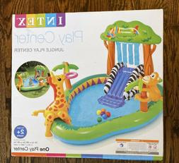 NEW Intex Jungle Play Center Inflatable Pool with Sprayer 85