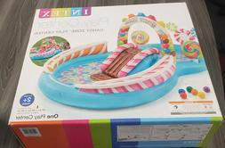 New Intex Kids Inflatable Pool Candy Zone Swim Play Center 1