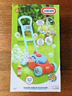 NEW  LITTLE  TIKES  MOTORIZED  BUBBLE  LAWN  MOWER