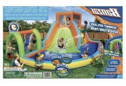 New BANZAI Summit Splash Inflatable Water Slide Adventure Pa