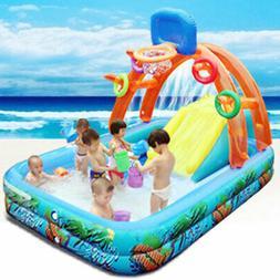 New Water Slide For Children Fun Lawn Water Slides Inflatabl
