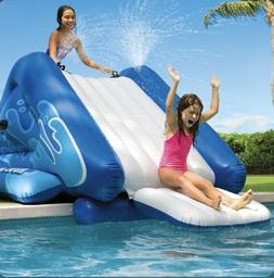 New!! Intex Water Slide Inflatable Play Center With sprayer