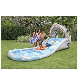 """New Intex Water Surf 'N Slide Inflatable Play Center 181"""" x"""