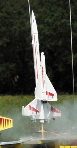 Semroc Orbital Transport Model Rocket Kit